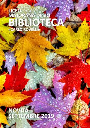 Newsletter biblioteca settembre 2019