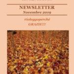 Newsletter di novembre 2019