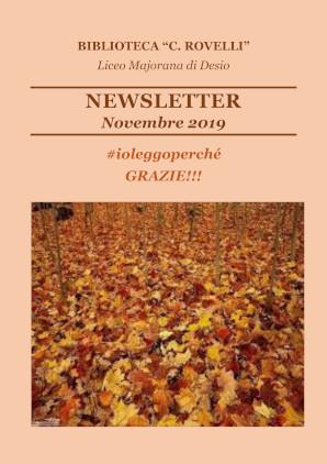 Newsletter biblioteca novembre 2019
