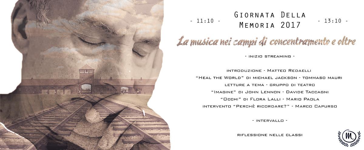 Volantino Giornata della Memoria 2017