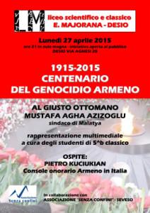 Centenario del genocidio armeno