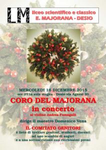 Coro del Majorana in concerto