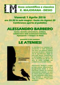 'Le Ateniesi' di Alessandro Barbero
