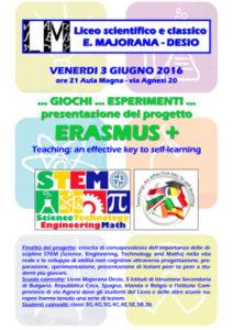 Serata Erasmus+