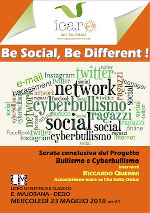 Be social, be different!