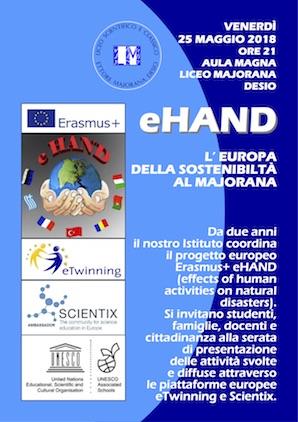eHand. L'Europa della sostenibilità al Majorana