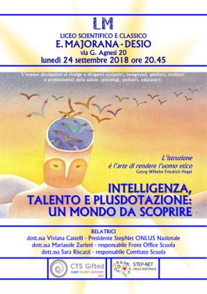 Intelligenza, talento, plusdotazione