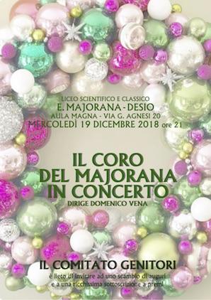 Il Coro del Majorana in concerto