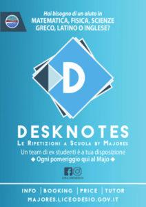 Volantino Desknotes 2017