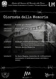 Volantino Giornata della Memoria 2016